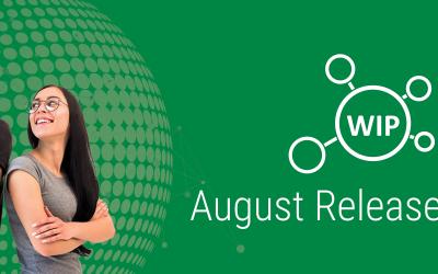 WIP August 2020 Release   Improvements & Modular WIP